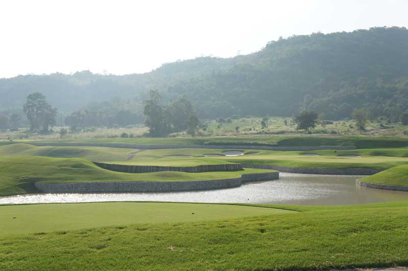 Black Mountain i Hua Hin - Par 3 bane