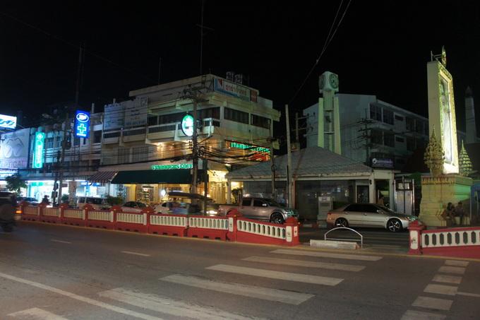 Clock tower i centrum af Hua HIn