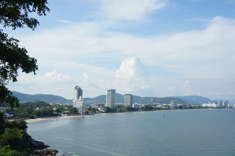 Ferie i Khao Takiap - udsigt fra abebjerget