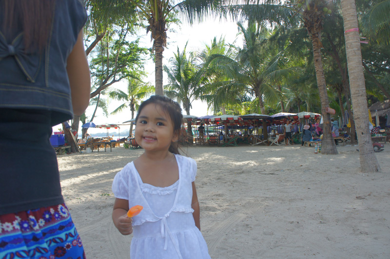 Ferie i Khao Takiap - Stranden