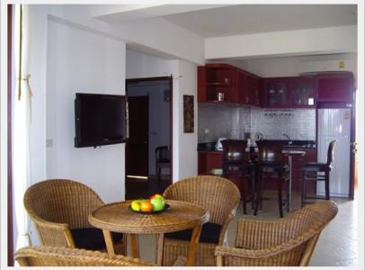 Stor lejlighed til Rayong Ban Phe - 2 soveværelser - RA–166–205–206