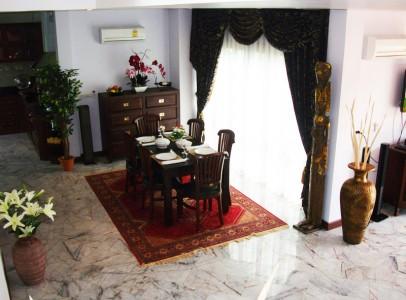 Lej luksus villa med privat pool - familie bolig 1