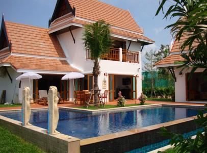 Lej luksus villa med privat pool - familie bolig 2