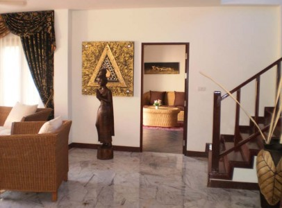 Lej luksus villa med privat pool - familie bolig 4