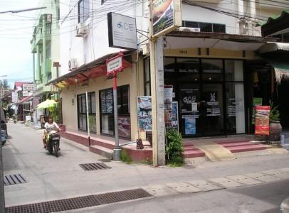 Bar / restaurant Hua Hin til salg - I centrum på hjørne - PK21320