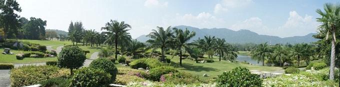 Spille golf på Palm Hills Golf Club & Residence, Hua Hin / Cha Am