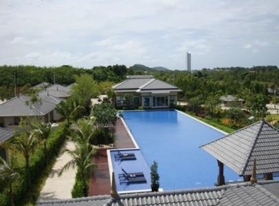 Billig ferievilla med 2 soveværelser til familien i Rayong
