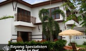 Lej hus, 3 soveværelser – Privat pool – Rayong  – TRO-145